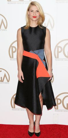 Look of the Day - January 26, 2015 - Claire Danes in Roksanda from #InStyle
