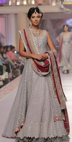 Zainab Chottani at Collection Telenor Bridal Couture Week 2015 #TBCW2015