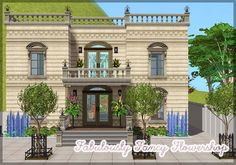 No: 9 Plumbob City - Fabulously Fancy Flowershop - This crown jewel among the buildings in Plumbob City is one of the first that was ever built in here. These walls has surrounded everything from family drama to secret society meetings. These days a Fabulously Fancy Flowershop makes prosperous business selling ridiculously priced flowers. The question is, can anyone really afford them? DOWNLOAD | Alternative ______________________________________________ Additional Pictures: The upper ...