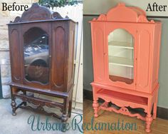 Coral China Cabinet - Urbane Reclamation