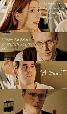 BtVS.  Love beginning of season 2.   Remember in earshot (season 4) when we found out that Xander can't multiply either?  Of course, he was trying to NOT think about sex at the same time...
