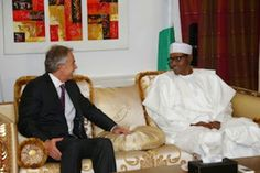Welcome to NewsDirect411: Tony Blair Visit Nigeria President Elect Gen Buhar...