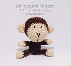 Amigurumi Pattern: Mandy the Monkey Zodiac Monkey by everangel