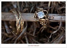 jewels ring engagement gold diamond nature