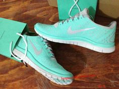 Amazing - this site has tiffany blue Nike's for half off!