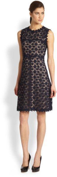Ophelia Dress - Lyst Elie Tahari Dresses, What To Wear, Feminine, Formal Dresses, Cotton, Blue, Clothes, Design, Women