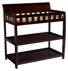 Delta Children Bentley Changing Table Chocolate >>> Click image to review more details.