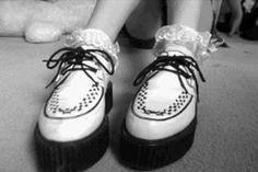 Fun...love the lace socks.