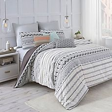 image of Under the Canopy® Abstract Aztec Duvet Cover Set