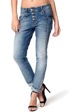 Super seje Soyaconcept Jeans Lysebl? Slidt Soyaconcept Underdele til Outlet i behagelige materialer