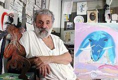 Menashe Kadishman (Hebrew: מנשה קדישמן; born 1932, Tel Aviv) is an Israeli sculptor and painter.