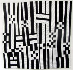 Kay Koeper Sorensen/Quilts + Color: Double Finish - Grid Structure
