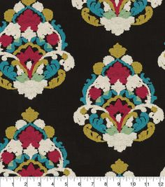 Waverly® Upholstery Fabric 55'' - Fiesta Folk Lure Embroidery