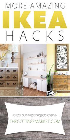 More Amazing IKEA Hacks - The Cottage Market