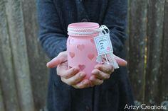 Easy-DIY-Valentine's Day-Votive-Artzy Creations 7