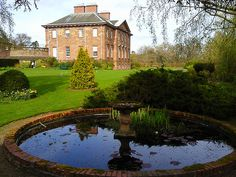 Paxton House garden pond, Scottish Borders