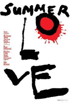 Summer Love film poster 2008 - Mieczysław Wasilewski