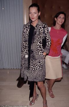 Kate debuts her leopard print-and-LBD look at the Mondrian Hotel, Los Angeles, for a Jade ...
