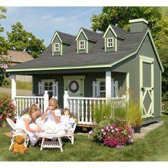Pennfield Cottage 11 x 10 Playhouse #backyardplayhouse