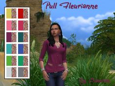 Pull Fleurianne couverture