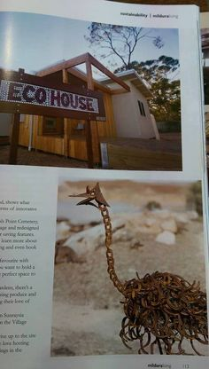 made it into a local magazine. Mildura eco village  Pop's art & Co  check us out on facebook aswell