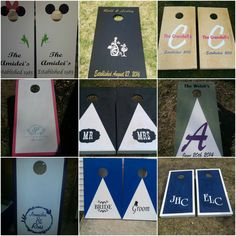 Wedding  Custom  Cornhole Bean bags Boards with 8 bags tournament regulation by WisconsinOutdoorGame on Etsy