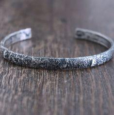 Sterling Silver Cuff Bracelet, Silver Bracelets, Bracelets For Men, Sterling Silver Chains, Bangle Bracelets, Bangles, Band, Jewelry Making, Wire