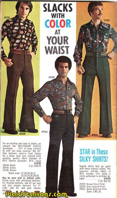 Plaid Stallions : Rambling and Reflections on '70s pop culture