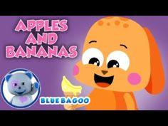 Apples and Bananas | Blue Bagoo & Friends – Kids Songs
