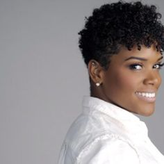 Tapered Natural Hair Cut | Love Your Naps: Fly Natural Hair Daily: Cute Curly Cut