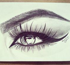 Eyebrow eyes