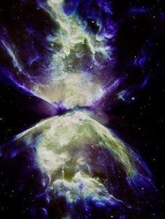 De Nevel van de vlinder - NGC 6302 (ook wel de Bug Nebula, Butterfly Nebula, of Caldwell 69) is een bipolaire planetaire nevel in het sterrenbeeld Schorpioen.  De structuur in de nevel is een van de meest complexe ooit waargenomen in planetaire nevels.  Het spectrum van NGC 6302 toont aan dat de centrale ster is een van de heetste sterren in de melkweg, met een oppervlaktetemperatuur van meer dan 200.000 K, hetgeen impliceert dat de ster waaruit het gevormd moet hebben door Tamid..lbxxx.
