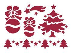 stencil natalizi per vetrine - Cerca con Google