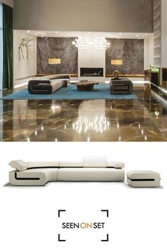 G-Sofa by Limitless seen in Christian Grey's apartment in Fifty Shades of Grey.