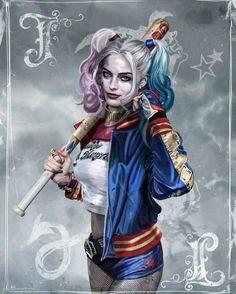 Batman & The Dark Knights of Gotham Harley Quinn Tattoo, Joker Et Harley Quinn, Tatuaje Harley Quinn, Harley Quinn Drawing, Margot Robbie Harley Quinn, Harley Quinn Cosplay, Joker Dc, Batwoman, Nightwing