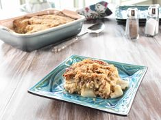 Trisha Yearwood's Mama's Old-Fashioned Potato-Beef Casserole.  I just put this in the oven, and I'm already in love with the white sauce/Cheddar cheese sauce all by itself!  It would be great over toast or biscuits.  It would be yummy over the potatoes in this recipe without the meat!  I can't wait for the next 20 minutes to pass until it's all done!
