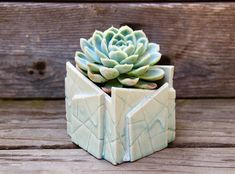 Your place to buy and sell all things handmade Pottery Pots, Slab Pottery, Pottery Shop, Pottery Ideas, Ceramic Plant Pots, Clay Planter, Ceramic Clay, Flower Pot Art, Flower Pots