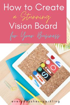 Creating a vision board for your business goals can help to keep you focused and inspired. Learn how to create a stunning vision board today! Vision board ideas. Vision board examples. Vision board inspiration. Law of attraction. Ideas Goal setting. Work from home. Make money online. Business Goals, Business Tips, Business Women, Online Business, Make More Money, Make Money Online, Bucket List Ideas For Women, Digital Vision Board, Work Goals