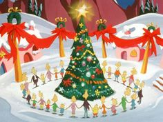 Every who down in whoville liked Christmas a lot! Christmas Shows, Christmas Holidays,