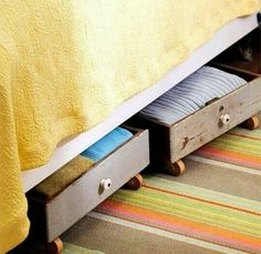 M s de 1000 ideas sobre cajones bajo cama en pinterest litera camas gemelas de esquina y camas - Cajones bajo cama ...