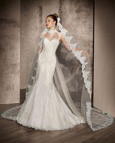 3cc3724a611d Mermaid Wedding Dresses   Picture Description Perle by Delsa 2016 Wedding  Dress