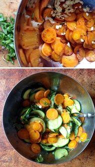 Zeleninová příloha - lehká zelenina oblíbená v Itálii, je výborná i studená