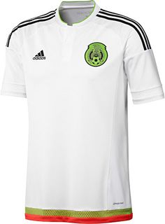 3279f7114 Mexico Away Jersey 2016 in White by Adidas in Mens sizes.