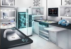 #IoT Interactive Demos of the Smart Connected Kitchen of the Future at NRF 2017  #nrf17 #retail