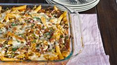 #Recipe / Baked Penne with Italian Sausage
