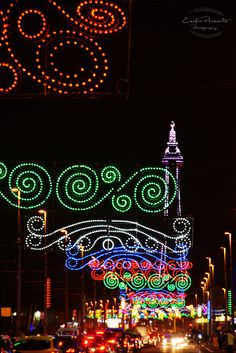 Blackpool Illuminations by Zsofia Porzsolt