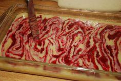 Vanilla raspberry swirl cake2 - Paleo
