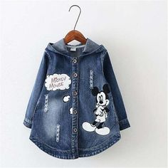 children outerwear&coats girls clothing 2016 spring autumn fashion baby kids jackets long sleeve diamond girls denim jean coat(China (Mainland)) Source by annarzepala Coat Denim Fashion, Kids Fashion, Autumn Fashion, Girls Denim Jacket, Baby Dress Patterns, Denim And Lace, Kids Coats, Kids Outfits, Baby Outfits