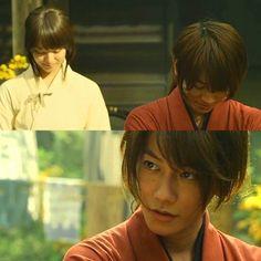 Rurouni Kenshin: The Legend Ends. Takeru Sato as Kenshin Himura, EminTakei as Kaoru Kamiya.