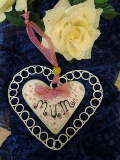 Mum Hanging decoration £4.00    By Lisa Jane